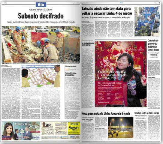Anúncio O Globo - 04 - 08 - 2014
