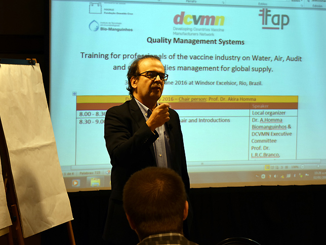 Workshop da DCVMN organizado pela FAP no Rio de Janeiro